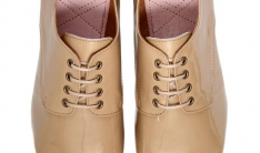 Flats Lincoln Patent Beige  - 1